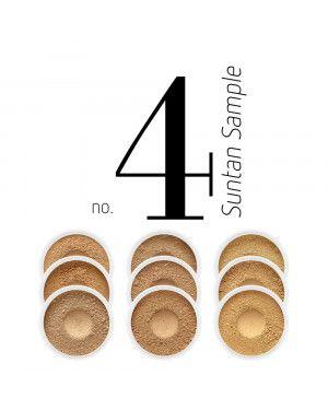 Zestaw próbek podkładów Suntan Sample No.4