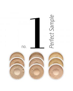 Zestaw próbek podkładów Perfect Sample No.1